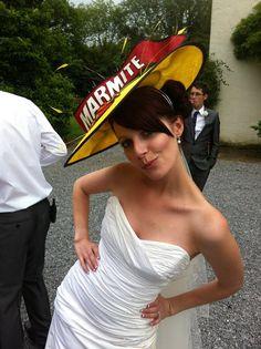 A beautiful Marmite bride Marmite, Festival Wedding, Main Colors, Wedding Designs, Panama Hat, Bride, Hats, Beautiful, Fashion
