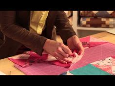 Ohio Star Baby Quilt: Two Tips - Quilty-Epsiode 422 with Mary FonsYouTube Video 7:23 mins Problem solving.....