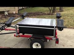 Blue mountain outfitters canoe and kayak trailers 4 for Harbor freight fishing cart