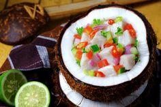 Kokoda: Fijian Coconut Milk Ceviche