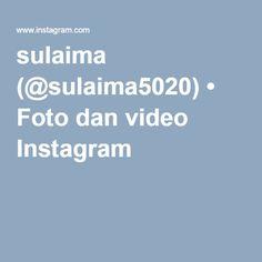sulaima (@sulaima5020) • Foto dan video Instagram