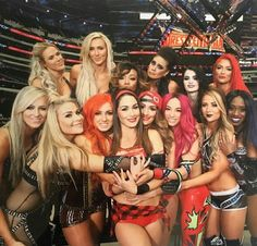 This is the crew the WWE Women Champs! This is the era of women wrestlers! The Bella Twins, Nikki Bella, Brie Bella, Wrestling Divas, Women's Wrestling, Wrestling Stars, Becky Lynch, Wwe Superstars, Wwe Lucha