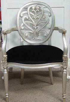 We offer a wide range of quality French furniture at competitive prices including reproduction French beds, tables, chairs, chaise lounge - Buy Online Silver Furniture, Furniture Makeover, Creative Furniture, Small Bedroom Furniture, Furniture, Estate Furniture, Home Furniture, Custom Made Furniture, Vintage Chairs
