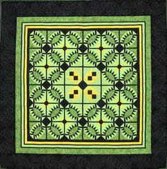 In a Pickle quilt by Diane Hogan. Best traditional machine pieced wall hanging at 2012 Quilts Kingston