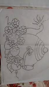 Hand Embroidery, Machine Embroidery, Embroidery Designs, Coloring Books, Coloring Pages, Dollhouse Miniature Tutorials, Pottery Designs, Fabric Painting, Designs To Draw