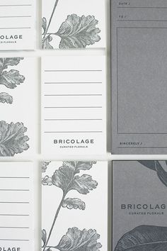 Bricolage Curated Florals / By Go Forth Creative