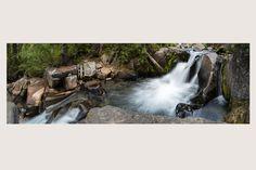 """DOUBLE SERENITY"" Mt. Rainier National Park, Washington State | Rivers and Waterfalls | Steve Hansen Fine Art Landscape Photography"