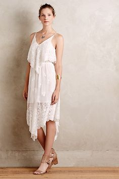 Cielo Silk Dress #anthropologie