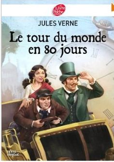 One of my first books I read in French! I always like travel and adventure. Jules Verne, Cycle 3, Read In French, French Immersion, Book Illustration, Continents, Book Quotes, Childrens Books, My Books
