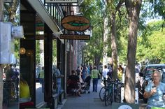 Ballard, Seattle. Great shopping, restaurants, coffee