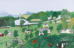 SOTHEBY'S April 16 2014          ANNA MARY ROBERTSON (GRANDMA) MOSES   QUIET VILLAGE        LOT SOLD. 68,750            ANNA MARY ROBERT...