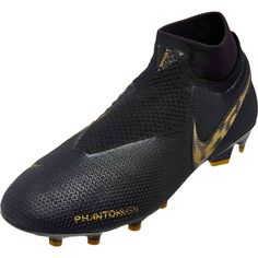 The Black Lux pack Nike Phantom Vision Elite shoes are hot at www.soccerpro. ae2c8b842