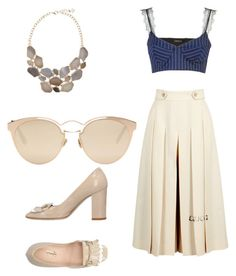 """""""Untitled #11"""" by tripti917 on Polyvore featuring Gucci, Christian Dior, F.Lli Bruglia, girlpower and powerlook"""