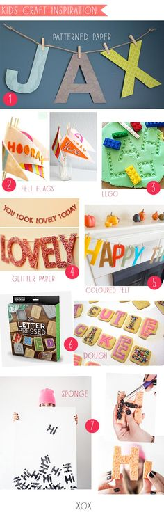 Abc_craft with specialty paper