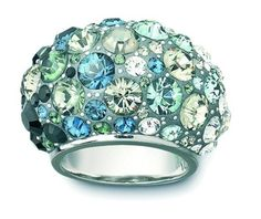 Posts about Swarovski Crystal Jewelry Design Inspirations! Swarovski Crystal Rings, Swarovski Jewelry, Crystal Jewelry, Jewelry Rings, Jewelry Accessories, Jewelry Design, Jewelry 2014, Women's Rings, Silver Jewelry