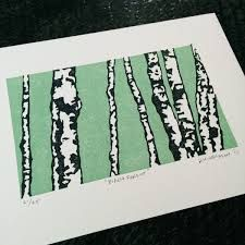 Image result for reduction lino printing