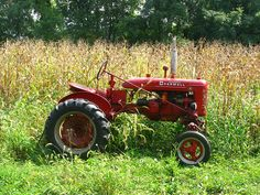Red tractors are the best...