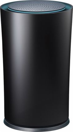 TP-LINK - Google OnHub AC1900 Dual-Band Wi-Fi Router - Black - Front Zoom