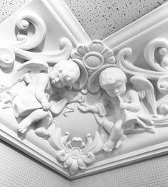 Гипсовый карниз. Угловой элемент. Каталог гипсовой лепнины: http://aurora-interior.ru/?page_id=2 Студия Аврора (гипсовая лепнина)  Краснодар, ул.Офицерская, 36  http://aurora-interior.ru/