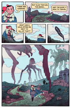 PHOBOREA Page 2 by Jake Wyatt
