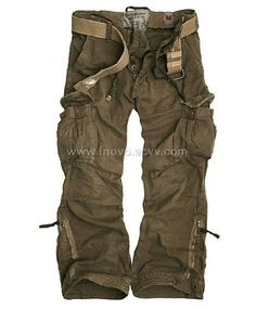 brown khaki pants on model women | ... Cargo Pants-China Abercrombie Kobuc Belted Cargo Pants price,picture