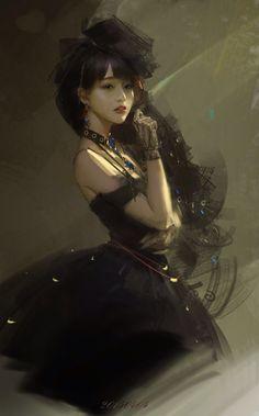 Digital Portrait - Fantasy By `Y 。(Nick Name) From `Chengdu, China 3d Fantasy, Fantasy Girl, Art Manga, Manga Anime, Digital Portrait, Digital Art, Character Illustration, Illustration Art, Character Inspiration