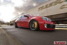 golf slammed | slammed Golf mk6 GTI - Porsche influences - StanceWorks