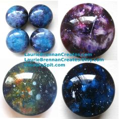 Unicorn Spit Galaxy Knobs for furniture and cabinets