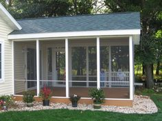 Easy Screened in Porch Ideas and Photos — Porch Designs