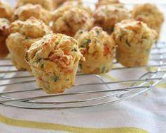 15 recipes for a vegetarian aperitif - Mini vegetable muffins Savoury Finger Food, Finger Foods, Vegetable Muffins, Breakfast Tea, Tea Sandwiches, Love Food, Cooking Recipes, Cooking Blogs, Cooking Ideas