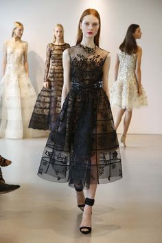 Fashion Show Dress 2015 Oscar de la Renta Resort