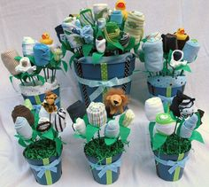 Baby Shower Ideas For Boys | ultimate boy baby shower decor boy s baby shower centerpieces over 50 ...