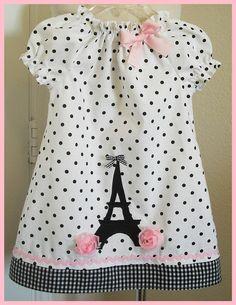 Ohh LaLa Paris Chic Polka dot applique dress- El día que tenga una hija le pondré este vestido!!! <3