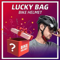 ONLY $20 TO GET THE VICTGOAL BIKE HELMET LUCKY BAG. MORE THAN YOUR EXPECTION, YOU WILL RECEIVE THE VICTGOAL TOP MODEL BEYOND YOUR PAYMENT. #cycling #bikehelmet #cyclinglife #cycling gear
