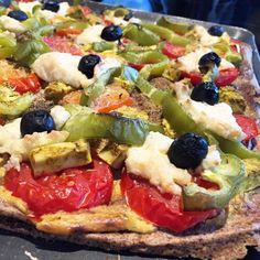 Pâte à pizz au quinoa sans gluten