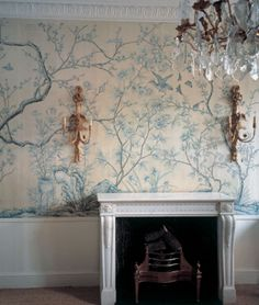 DE GOURNAY WALLPAPER - Askew
