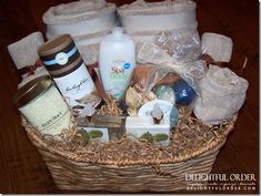 Relaxation Gift Basket Idea