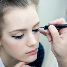 Backstage Beauty at Chanel's SS14 Couture Show