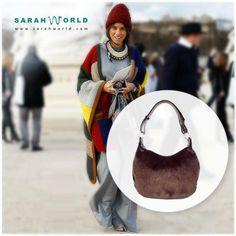 Bolso de pelo Sarahworld by Sara Navarro  #sarahworld #bolsoandy #trend #bolsopelo #streetstyle #ecocool #ecochic #ecofashion #madeinspain #handmade