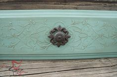 I am loving how these embossed drawer fronts turned out with using embossing creme and a stencil from Royal Design Studio. by DeDe Bailey Paint Furniture, Furniture Making, Furniture Makeover, Furniture Refinishing, Furniture Inspiration, Furniture Ideas, Painting Inspiration, Stencil Painting, Stencil Designs