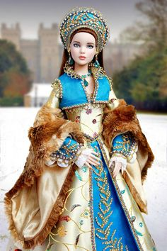 No name Barbie Gowns, Barbie Clothes, Ooak Dolls, Art Dolls, Barbie Bridal, Enchanted Doll, Marionette, Bride Dolls, Doll Costume