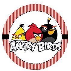 Kit festa grátis para imprimir Angry Birds – Inspire sua Festa ®