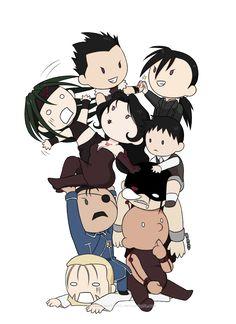 chibi Homunculus family