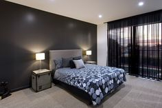 House with splendid stylistic conception and impeccable finishes in Melbourne #bedroom, #home, #bedroomideas