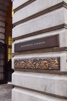 Image result for rosewood london signage