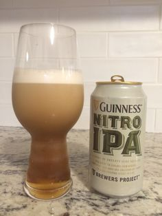The new Guinness Nitro IPA, smooth, creamy, and pleasantly hoppy. #Beer #Craftbeer #IPA