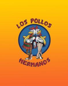 Breaking Bad - Los Pollos Hermanos Print - 11 x 14