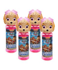 Another great find on #zulily! PAW Patrol Skye Bubbles - Set of Four #zulilyfinds