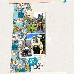 Portmeirion Copie | The Lilypad Digital Scrapbooking Layouts, Layout Inspiration, Storytelling, My Design, Create, Gallery, Design Inspiration