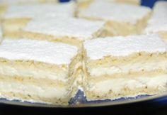 Pihe-puha túrós süti Hungarian Desserts, Hungarian Cuisine, Hungarian Recipes, Sweet Recipes, Cake Recipes, Dessert Recipes, Pavlova, Something Sweet, Sweet And Salty